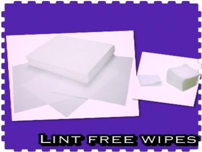 ผ้าเช็ดชิ้นงาน Lint Free Wipes